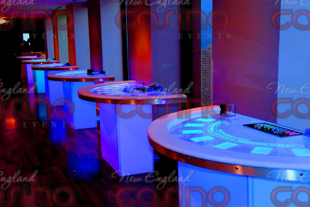 Glow Tables led glow tables   new england casino events
